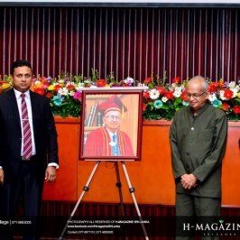 Felicitation Ceremony and Launching of Prof. M.W.Wickramarachchi