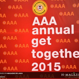 The annual get together of Alumni Association of Accounting