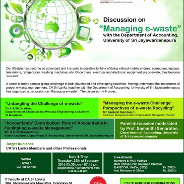 "Discussion on ""Managing e-waste"""