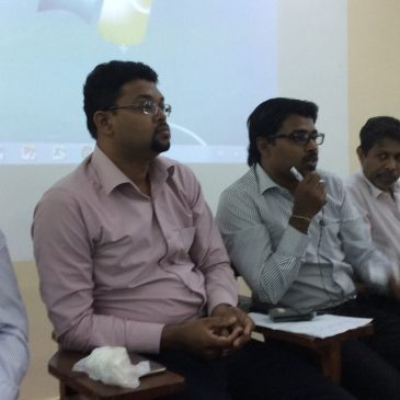 Workshop organized by Department of Accounting for the Advanced Level Students of St. Peter's College Colombo