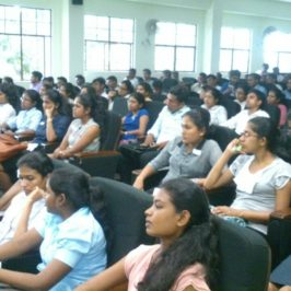 Mentoring Session on Internship in Accounting and Finance for Second Year Undergraduates of Department of Accounting
