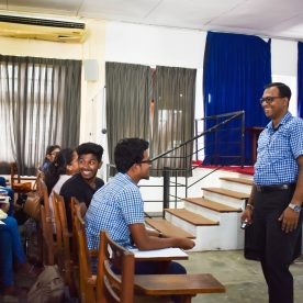 Guest Lecture on 'Value and Attitude building'