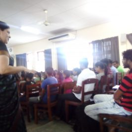 Guest Lecture on 'Language Skills expected in graduates by the corporate world'