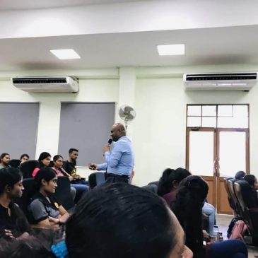 Guest Lecture on Importance of Soft Skills Development