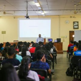 Guest Lecture on 'Digitalisation: Future of Finance'