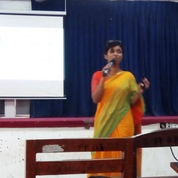 Guest Lecture on 'Personal Grooming & Social Etiquette'