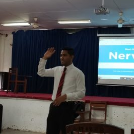 """Guest Lecture on """"Effective Communication & Public Speaking"""""""