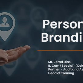 """Guest Lecture on """"Personal Branding and Networking"""""""