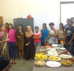Sinhala and Tamil New Year Dining 2015