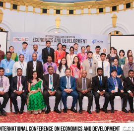 First International Conference on Economics and Development (ICED 2017)