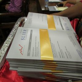 Launch of Sri Lanka Journal of Economic Research (SLJER) Volume 4 – Issue 2