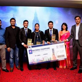Business Economics Student representing Sri Lanka in Unilever Future Leaders' League 2018