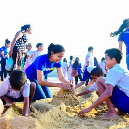 Colouring Smiles 2018: Annual CSR Project of the Department of Business Economics