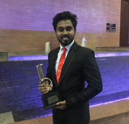 Business Economics Student wins Best Speaker National Youth Award 2018