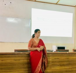 "Guest Lecture on ""Ready Yourself for the Competitive Corporate Sector"""
