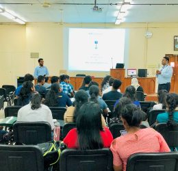 "Guest Lecture on ""Market Yourself with an Outstanding CV"""