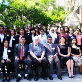 Two Business Economics Students participated in USJP Study Tour to Monash University, Australia