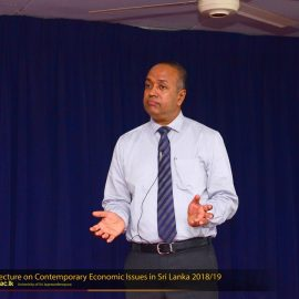 """Guest Lecture on """"Contemporary Economic Issues in Sri Lanka"""""""