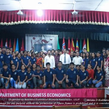 Committee Members of Business Economics Students' Association (BIZCON) – 2014