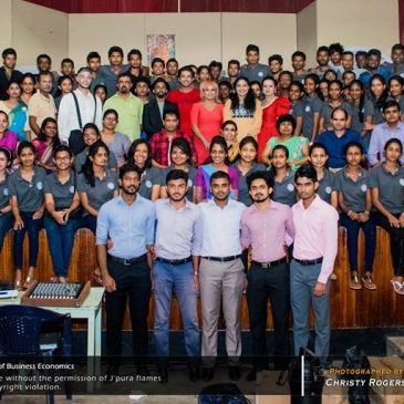 Committee Members of Business Economics Students' Association (BIZCON) – 2016