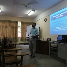 """Guest Lecture on """"National Thalassaemia Prevention"""""""