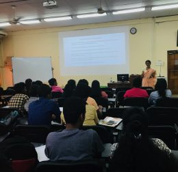 """Guest Lecture on """"Preparation of the National Budget and Approval Process"""""""