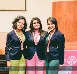 Team Nova of Department of Business Economics emerged as 2nd Runners-up at Maestro 2019