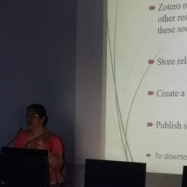 Workshop on Reference Management with Zotero