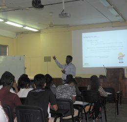 "Guest Lecture on ""Guide to Market Yourself with an Outstanding CV"""