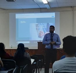 """Guest Lecture on """"Start your Career as a Banker: A Guidance for your Job Interview"""""""
