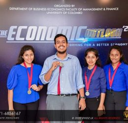 "BEC Students emerge as Runners-up at ""The Economic Outlook 2020"""