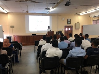 "Guest Lecture on ""Careers in Capital Market Space"""