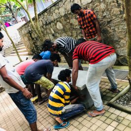 Project to Establish Outdoor Benches in the Premises of FMSC, USJ