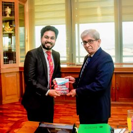 A Business Economics Student launches a Book on Economic Reforms for Post COVID-19 Era