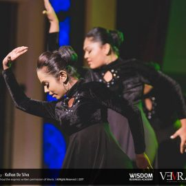Wishes for the most popular team at the Inter University Dancing Competition – 2017