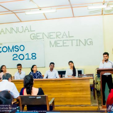 COMSO Annual General Meeting – 2018