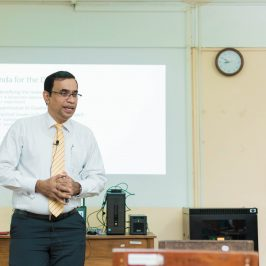 Guest Lecture – Applicability of Research Methods in Industry Perspective