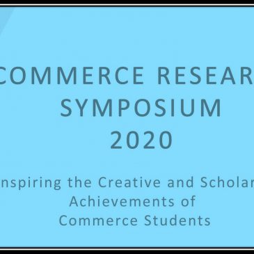 2nd Commerce Research Symposium 2020