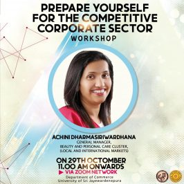 Preparation for the Competitive Corporate Sector – Workshop