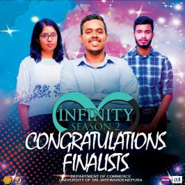 Infinity Intra-University Case Study Competition 2020 Semi-final round was successfully conducted via virtual platforms