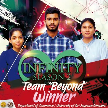Team Beyond Infinity emerge champions at the 2nd edition of Infinity Intra-University Case Study Competition 2020
