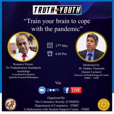 Truth for Youth – Train Your Brain to cope with the pandemic