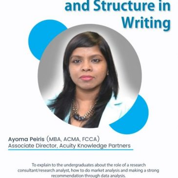 Importance of logic and structure in writing