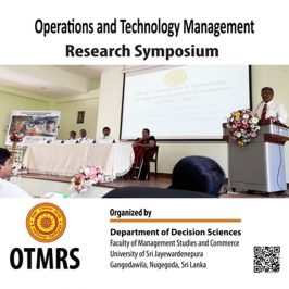 The Second Operations and Technology Management Research Symposium – OTMRS 2017