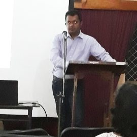 Guest Lecture on Project Management by Mr. Manthika Subasingha