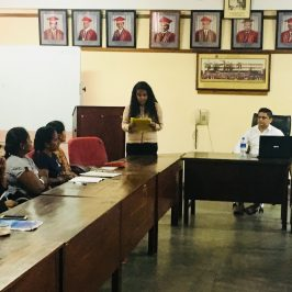 "Guest Lecture on ""Warehouse and Transport Management – Practical Aspects"""