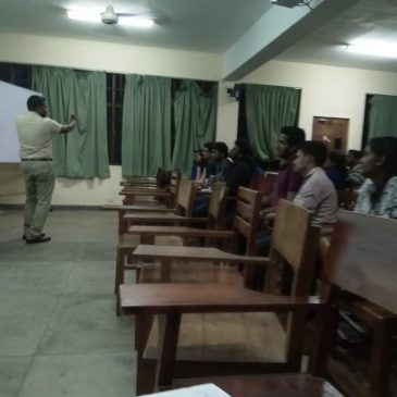 "A Guest Lecture on ""Who am I"""