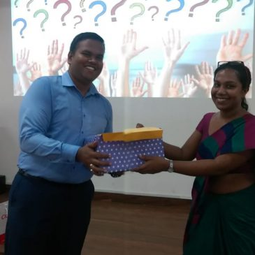 "A guest lecture on ""Supply Chain Management Practices in Sri Lanka"""