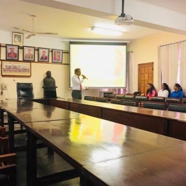 """A guest lecture on """"Supply Chain Management Practices in Sri Lanka"""""""