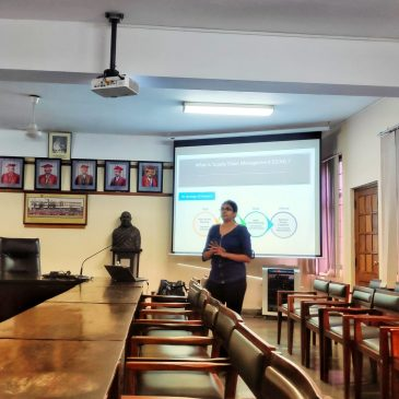 """Guest Lecture on """"Logistics and Distribution Management"""""""